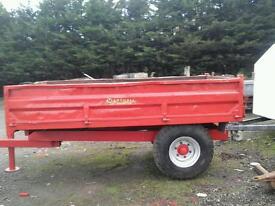 Marshall farm tipping trailer 10x6 no vat