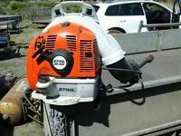 Stihl back pack blower br 450 no vat