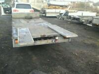 Ifor williams trailer with ramps 16x6.6