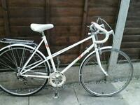 RETRO LADIES RALEIGH CANDICE, ,ROAD BIKE, 700 ALLOY WHEELS,
