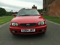 Toyota corolla 2001 second owner from new