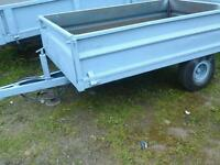 Small farm tipping trailer 6x4 no vat