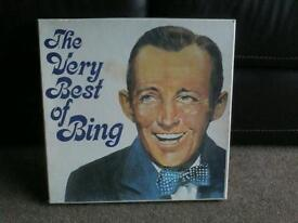 The very best of BING CROSBY on 6 vinyl LP's