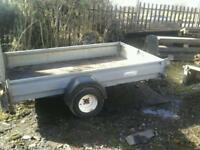 Indespenson quad trailer 8x5 no vat