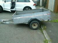 Caddy car trailer 6x4 o vat