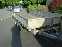 Ifor william tri aixl trailer 16x6.6 no vat