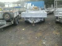 Ifor williams drop side trailer 10x6 no vat