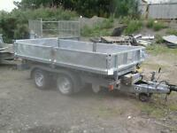 Ifor williams electric tipping trailer for 10x5.6 no vat