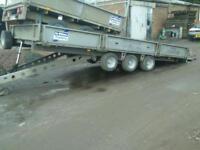 Ifor williams tilt bed car tranporter trailer no vat