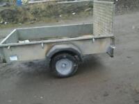 Ifor williams quad trailer 7x4 no vat