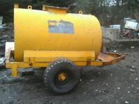 Watter bowser 2000 liters no vat