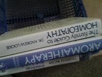 Three assorted holistic books £10