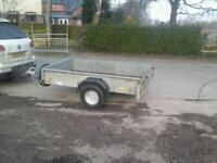 Ifor williams p 6 e trailer 7x4 no vat