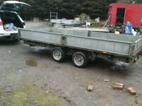 Ifor williams dropside trailer 14x6.6 no vat