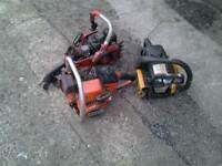 3 petrol chainsaws in poor condition maybe of some use for spares or repairs 15 pounds