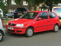 Volkswagon Polo 1.0L FULL YEARS MOT