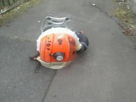 Stihl back pack blower br 600 no vat