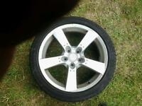18inc RX8 alloy wheel