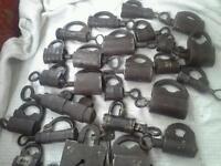 Antique padlock s
