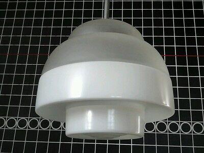 Art Deco - Bauhaus Deckenlampe 20/30-er Jahre - Opalglas