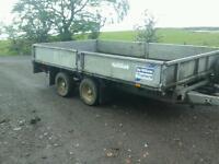 Ifor williams dropside trailer 12x6x.6 no vat