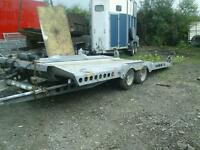 Ifor williams tilt bed car tranporter c177 no vat