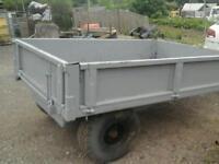 Weeks farm tipping trailer 8x5 no vat