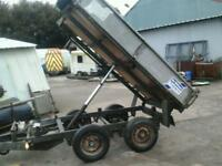 Ifor williams electric tipping trailer 8x5 no vat ( have mesh sides extra)