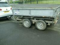 Ifor williams drop side electric tipping trailer 8x5 no vat