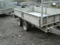 Ifor williams dropside trailer 10x5 no vat
