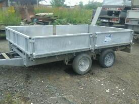 Ifor dropside trailer10x6 novat