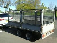 Ifor williams dropside trailer with mesh sides and ramps 10x5 no vat