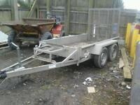 Indespension plant trailer 8x4 no vat