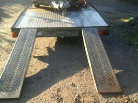 Ifor Williams galvanised trailer ramp 6 ft no vat