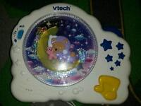 Vtech lullaby cot toy/night time soother