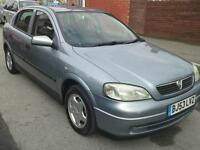 ASTRA AUTOMATIC 1.6CC CLUB 2003 53 PLATE METALLIC SILVER £ 795 MAY PX