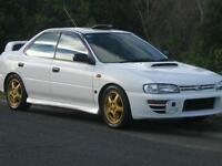 Subaru impreza gc8 wanted