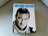 Boxed set of John Wayne dvds.