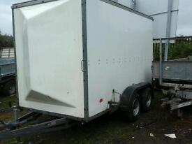 Richerson rice box van trailer 10x5.6x7 no vat