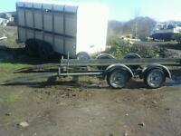 Indespenson car tranporter trailer 16x6 no vat