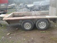 Iforwilliams plant trailer 8x4noo vat
