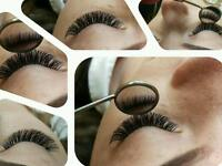 Eyelash extensions (classic and volume)