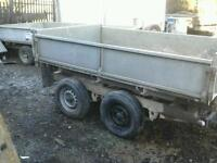 Ifor williams electric tipping trailer 8x5
