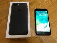 APPLE IPHONE 7 - BLACK -32Gb- Sim lock EE,Orange,T-Mobile