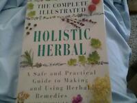 Holistic herbal book
