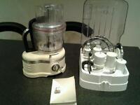 Kitchenaid artisan 4L food processor and accessories