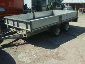 Ifor williams drop side trailer 12x6.6 no vat