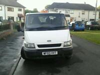 Ford transit crew cab 3 way tipper