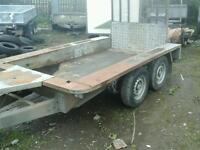 Ifor williams plant trailer 8x4 no vat