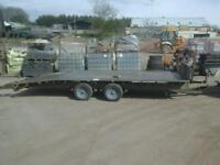 Ifor williams beaver tail trailer 16x6.6 with ramps no vat
